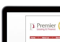 Premier Leasing website design